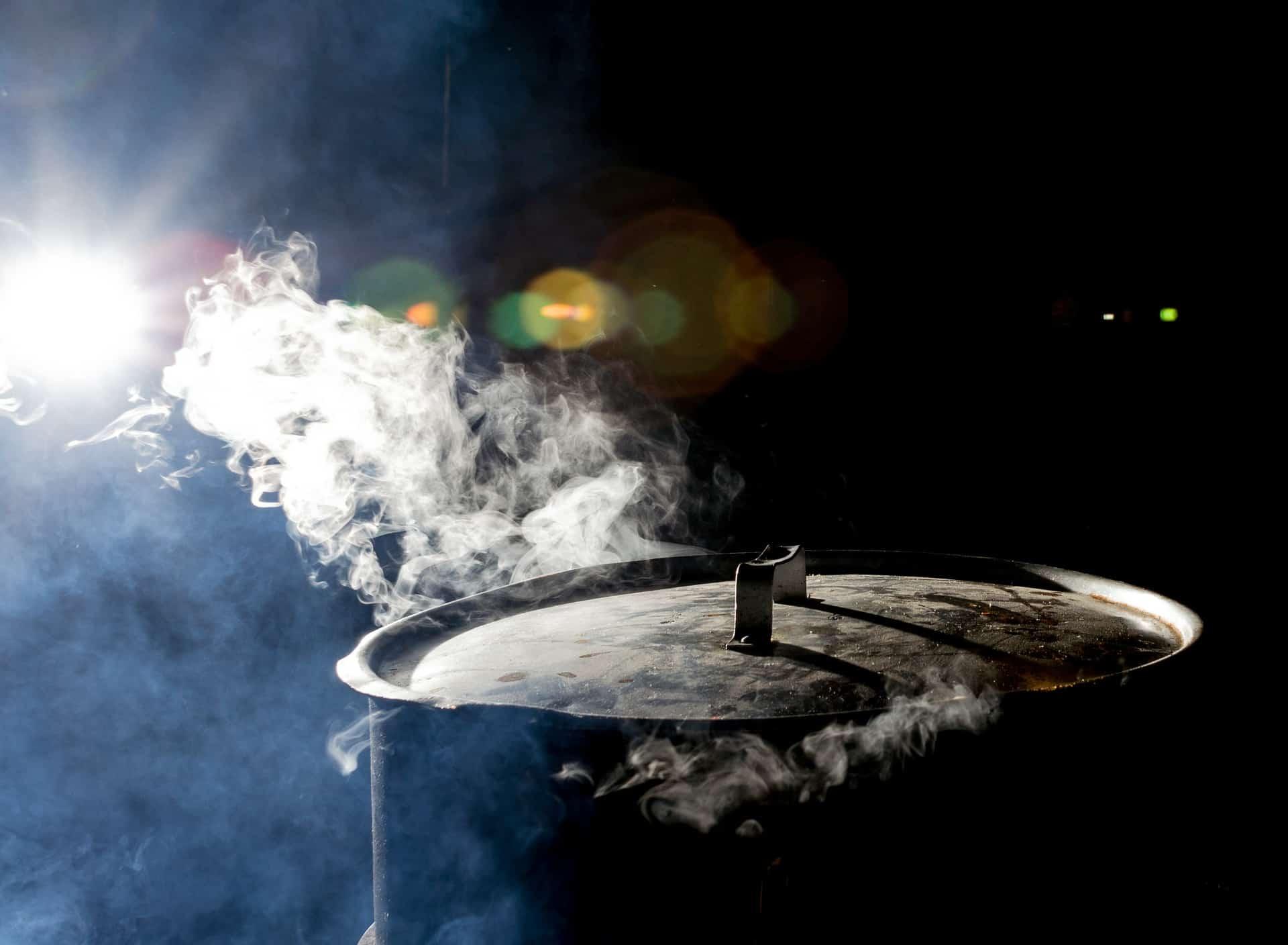 une cuisson vapeur