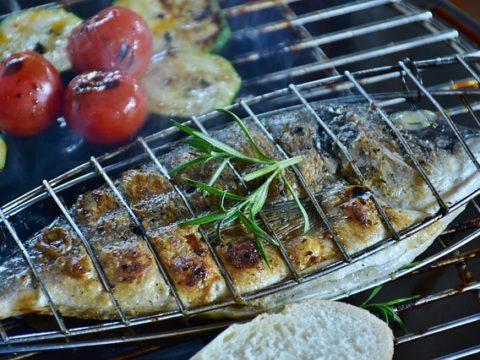 plat de poisson au four