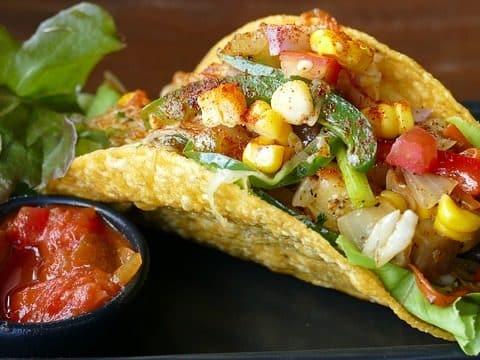 tacos avec du fromage