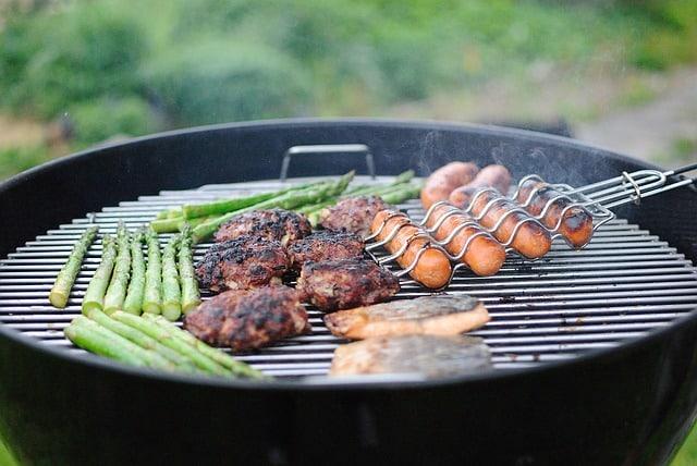 un beau barbecue de saison