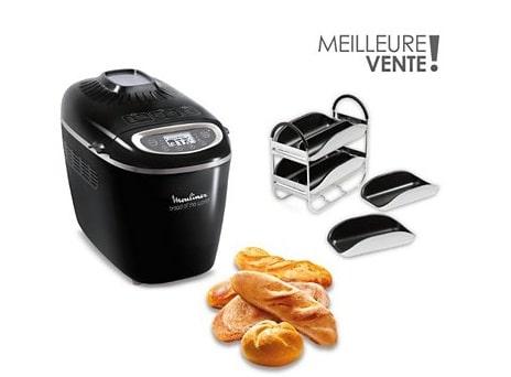 Machine à pain Moulinex noire