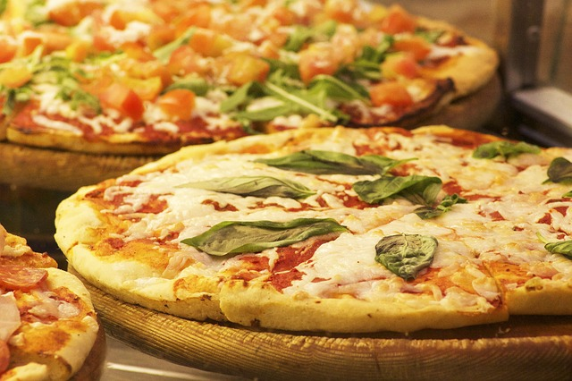 pizza au fromage