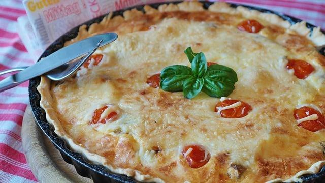 recette de quiche au fromage