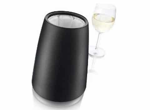 Seau à champagne rafraichisseur noir