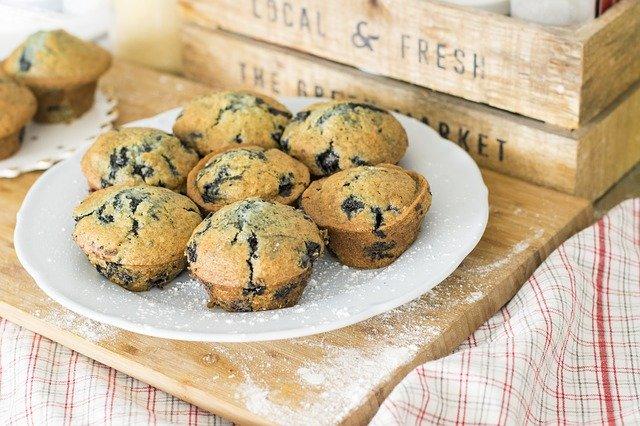 des muffins sans gluten
