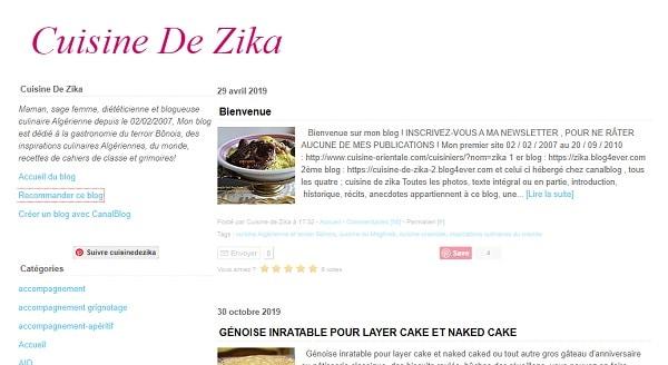 cuisine de zika
