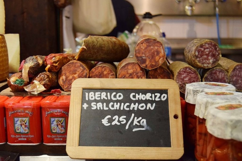 chorizo pour la raclette