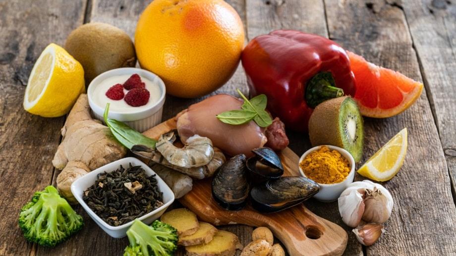 Aliments pour défense immunitaire