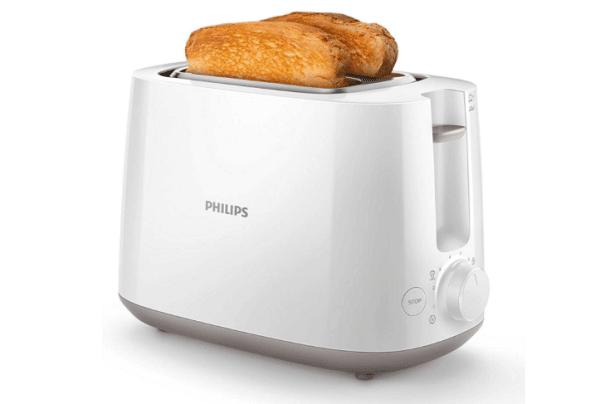 grill pain avec deux tranches bien cuites