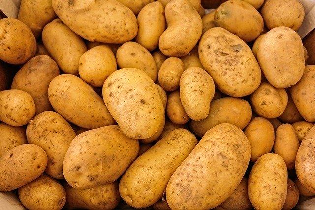 pommes de terre en vrac