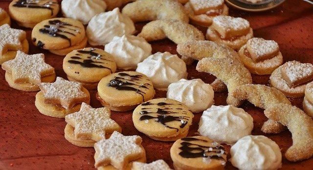 des biscuits au sucre