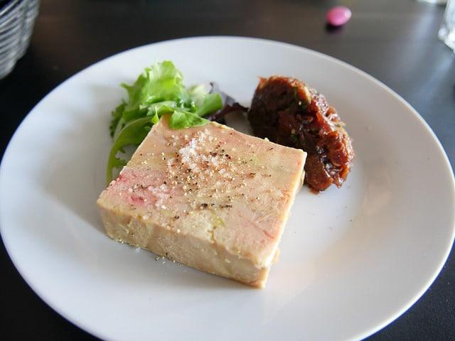 délicieux foie gras de canard